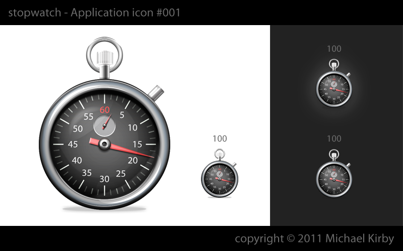 Make a Crazy Cool Stopwatch Icon?