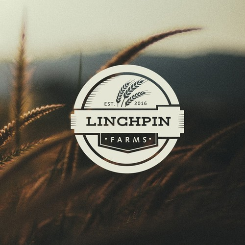 Logo for ''Linchpin Farms''