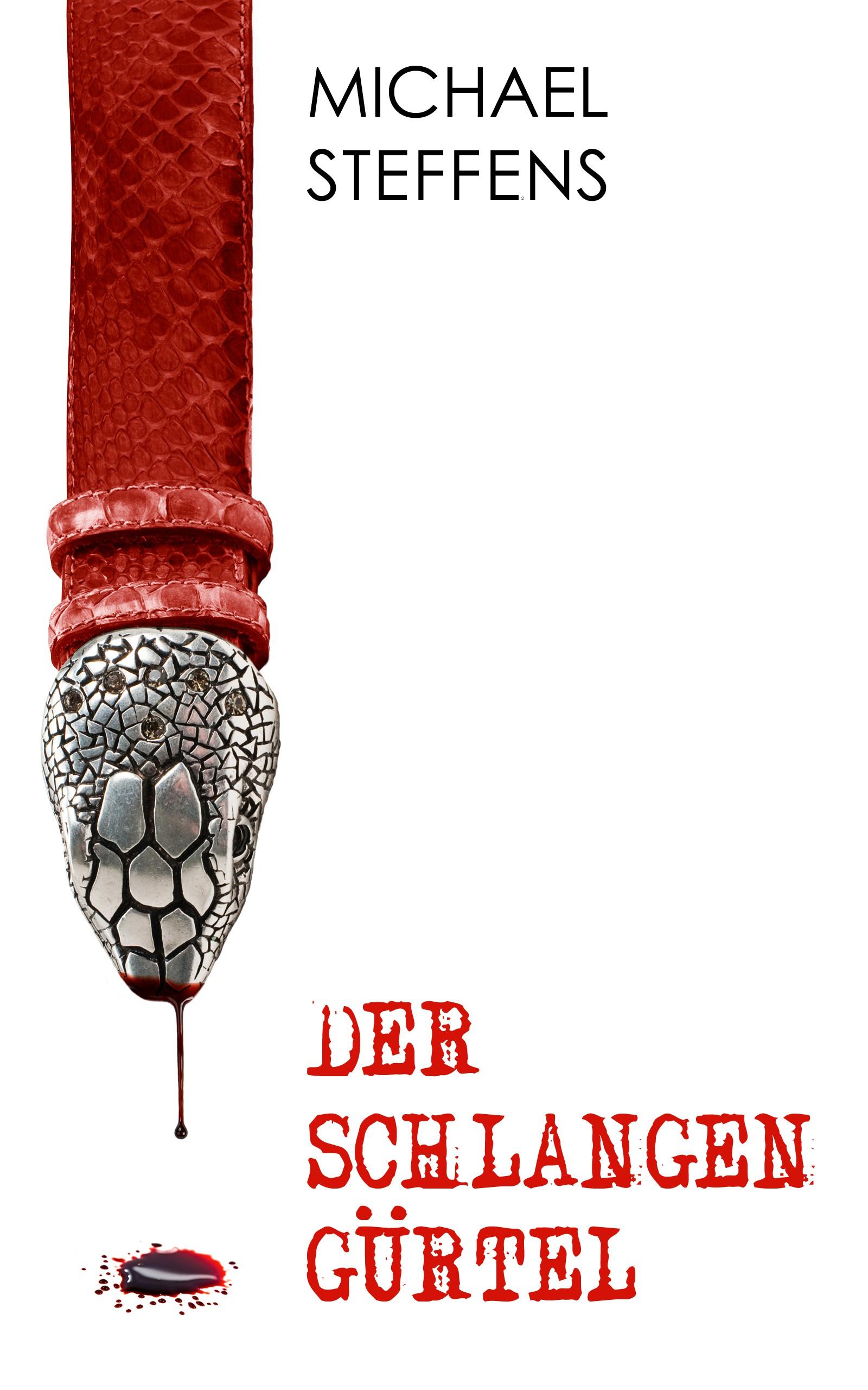 Cover for al mystery novel: The Red Snakeskin Belt