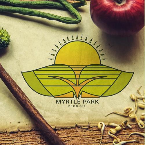 organic farm logo