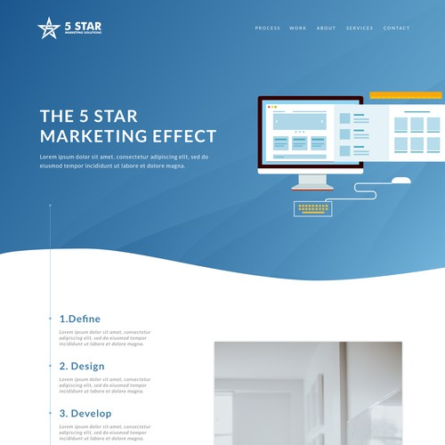 Marketing Firm Website