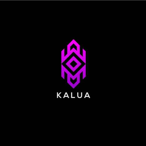 Logo proposal for KALUA, a Latin Rock Band