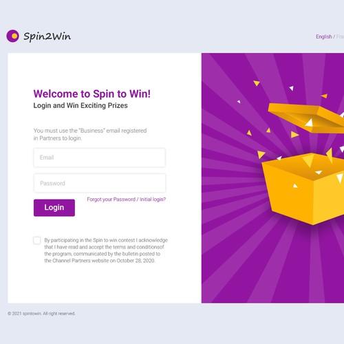 Web-based incentive application.