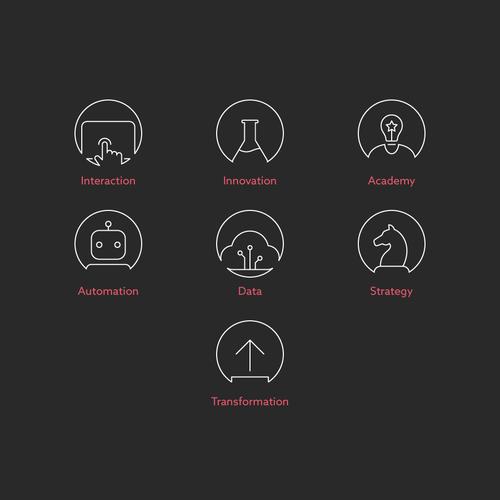 Cartina Website Minimalist Icons