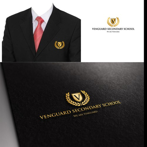 An innovative new high school needs an innovative logo... We are Vanguard!
