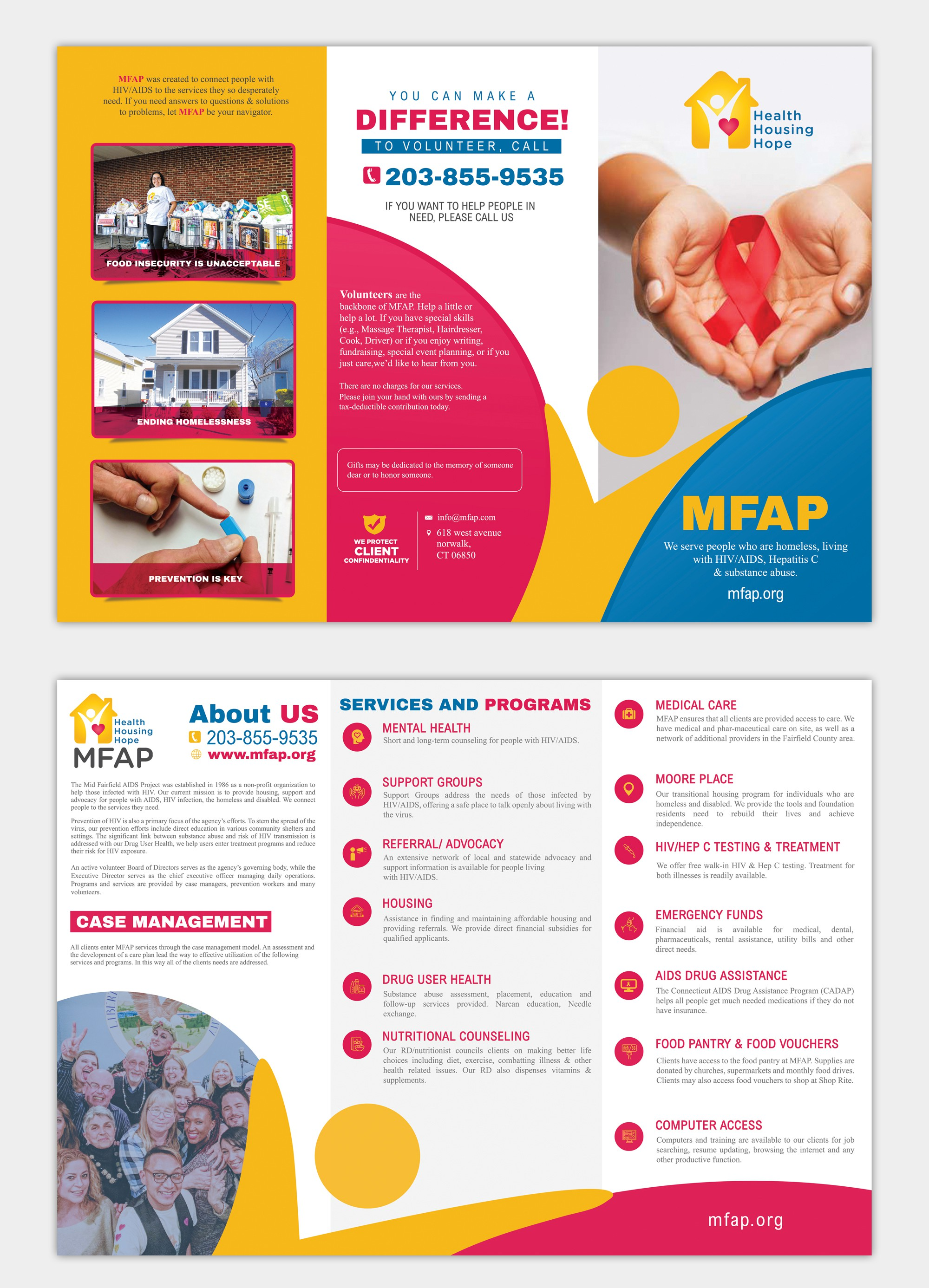 Create a brochure that will save lives everyday.