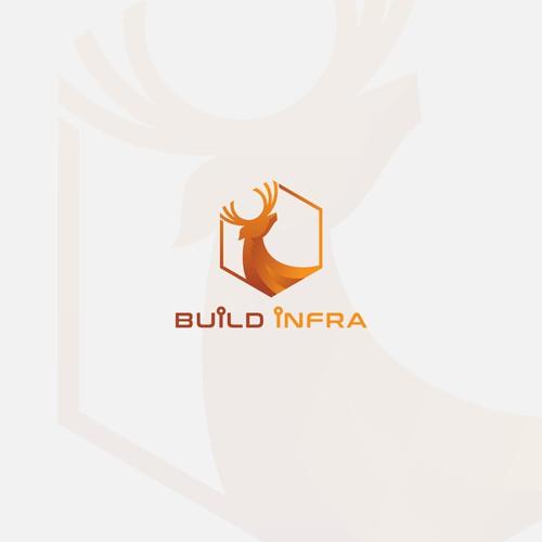 Logo design concept for Build Infra