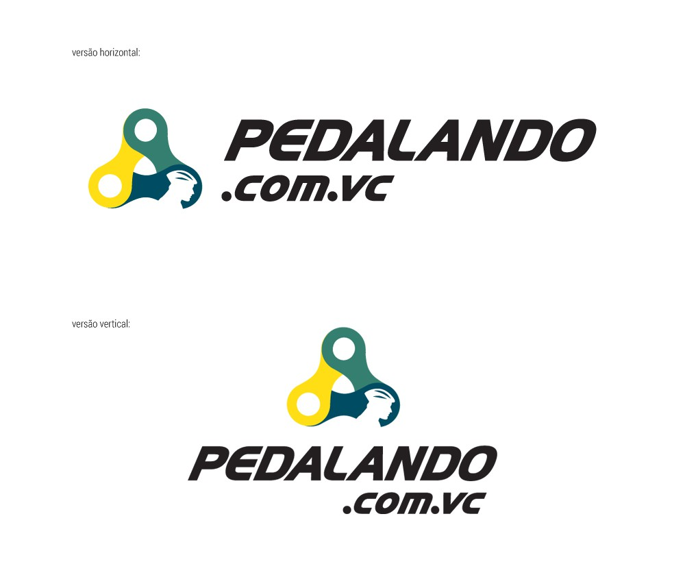 Create a modern ilustration (brand) for a bike that transmit security for users