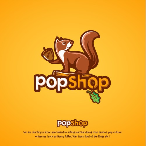 Logo for Pop Culture Shop