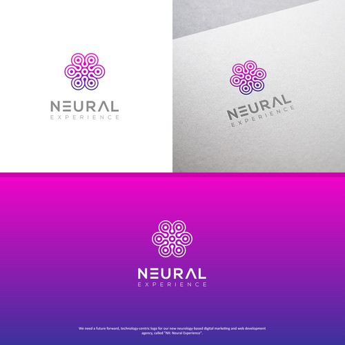 Logo for high-tech agency working in neurobiology