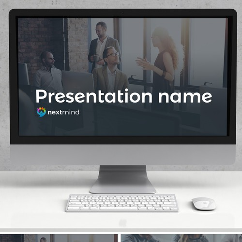 Powerpoint template for technology company