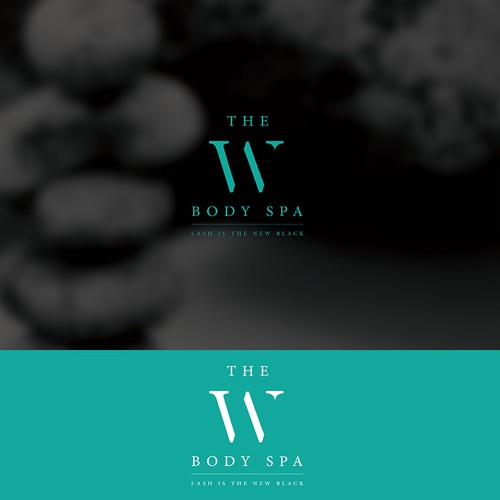 Logo for luxurious spa