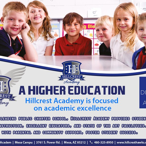 6 WINNERS WILL BE SELECTED! School Marketing Flyer