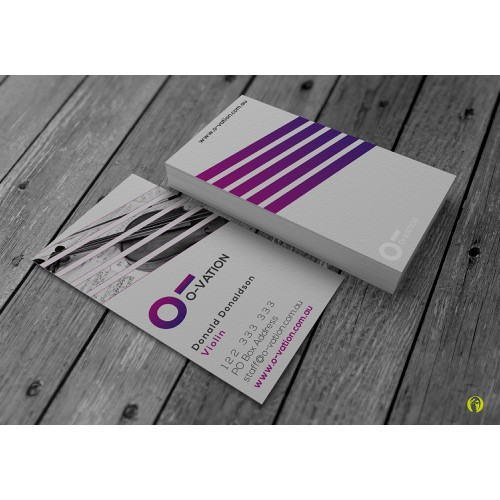 Business Card & Stationery - O-vation Music & Entertainment