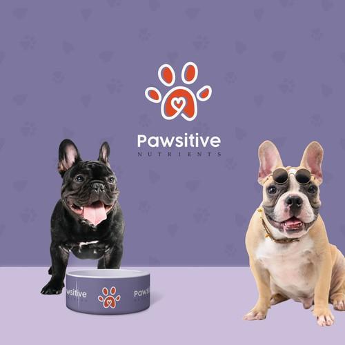 Premium pets food branding