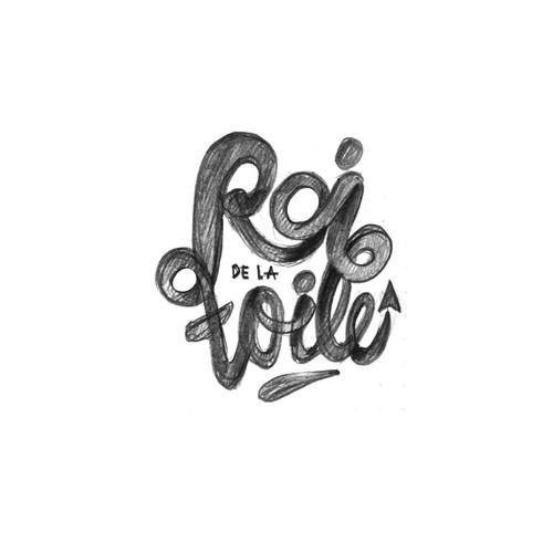 Initial Logo proposal for the Invesment company Roi de la Toile