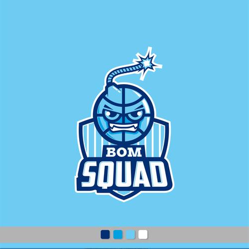 Logo for BOM SQUAD