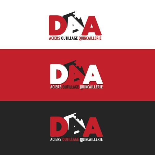 Créer un logo pour un commerce d' aciers , d'outillage ,et de quincaillerie