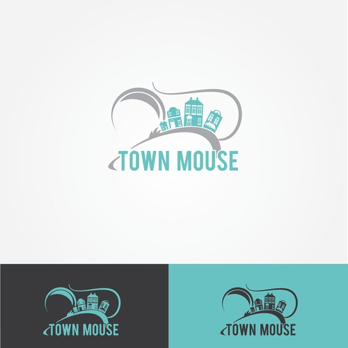 Create a winning design for the Town Mouse that is modern, classy and trendy
