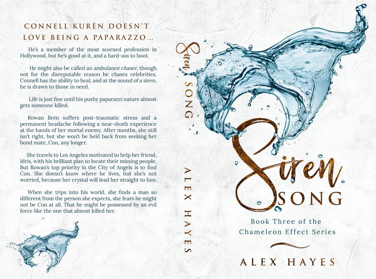 Redesign of Chameleon Effect Series  Book Covers