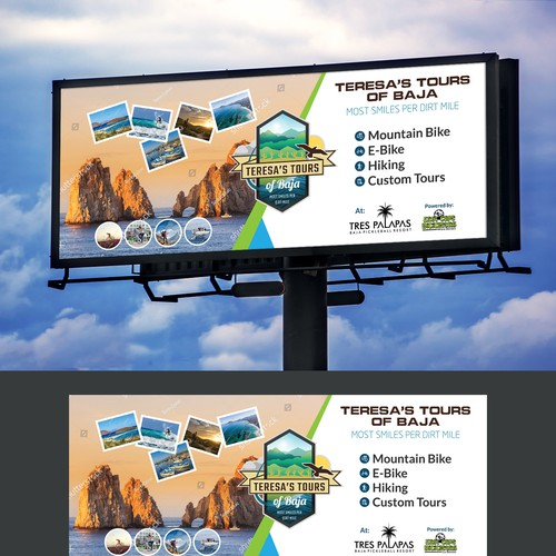 """Create a """"Stand-Out"""" Banner for Teresa's Tours of Baja!"""