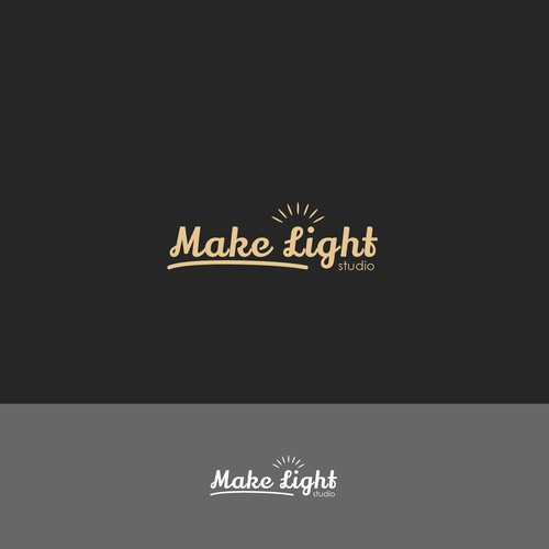 fun logo for makelight