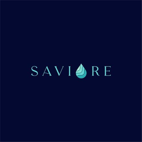 Logo Design for Saviore Ampoule Skincare Brand