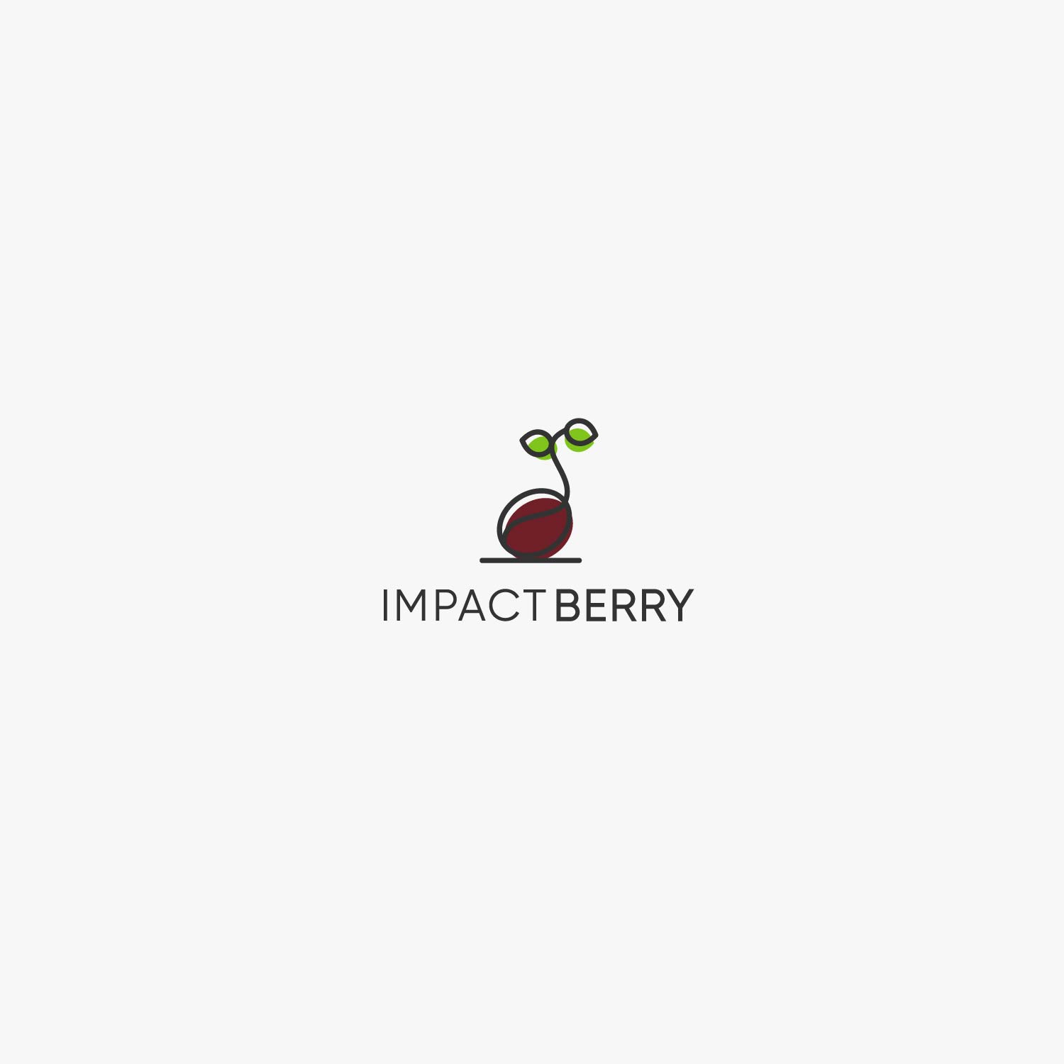 'Impact Berry' wants your puristic logo design!