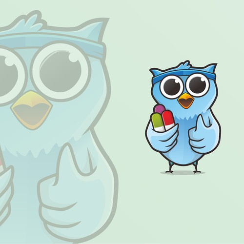 mascot logo owl