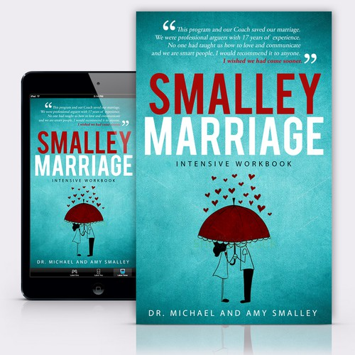"Book Cover concept for ""Smalley Marriage"""