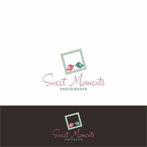 Sweet Moments Photo Booth Logo