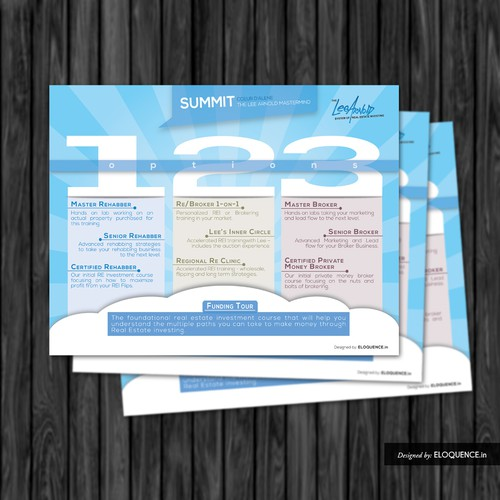 LeeArnold Summit Mastermind flyer