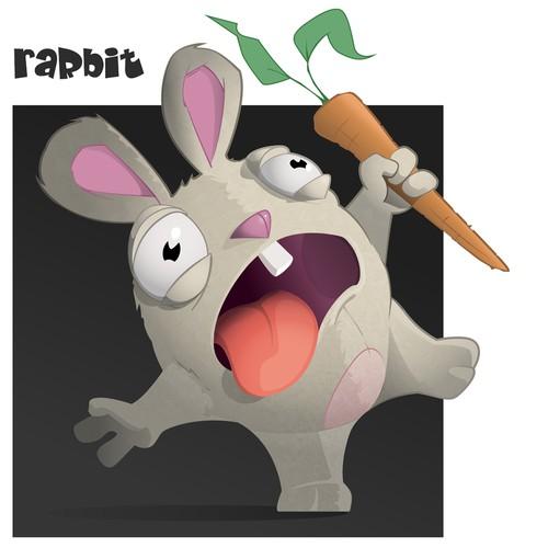 Rarbit Character Design