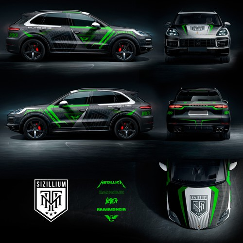 Porsche Cayenne Turbo 2018 Wrap