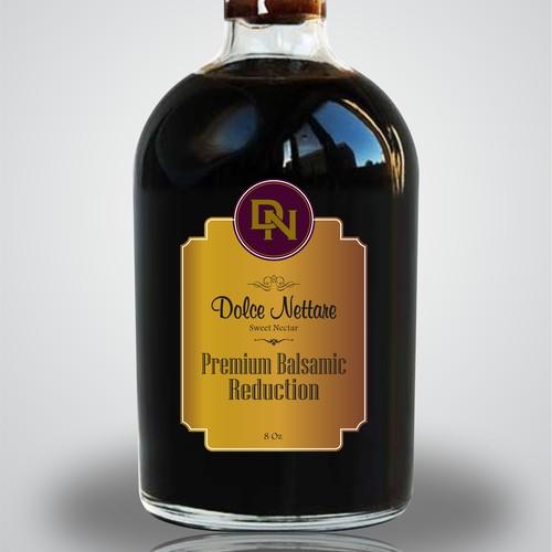 Classic Italian Grape/Vineyard label