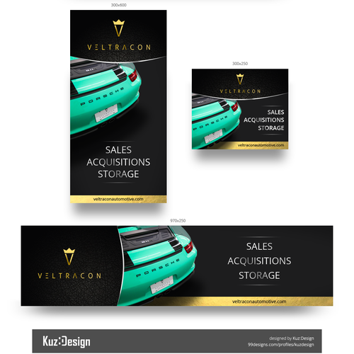 Automotive banner ad design