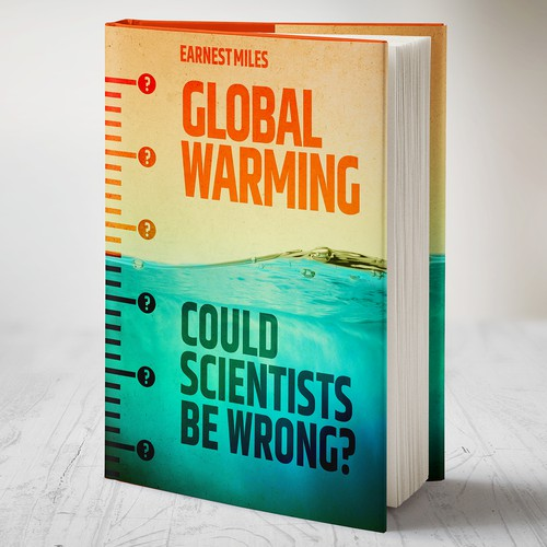 A global warming book cover