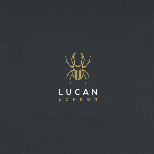 Logo design concept for modern luxury menswear company.