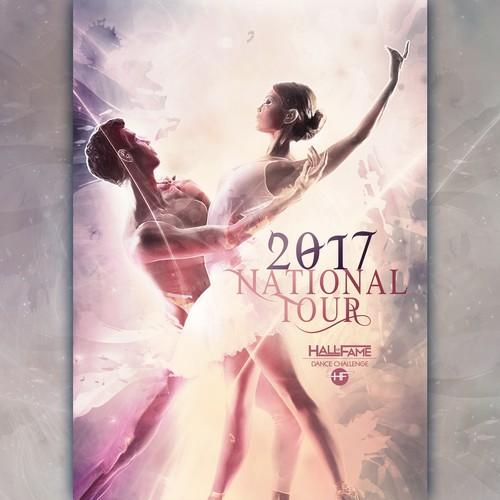 2017 National Tour Dance Challenge Poster