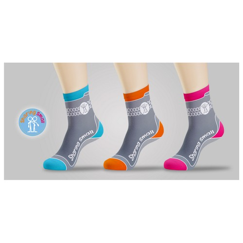 sock designs for Sharing Small
