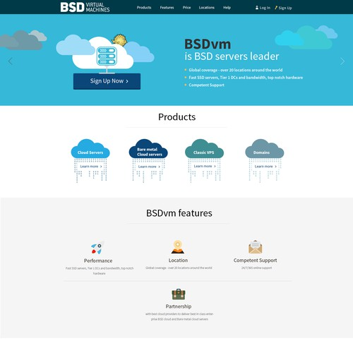 Re-launch of BSD Unix cloud servers provider