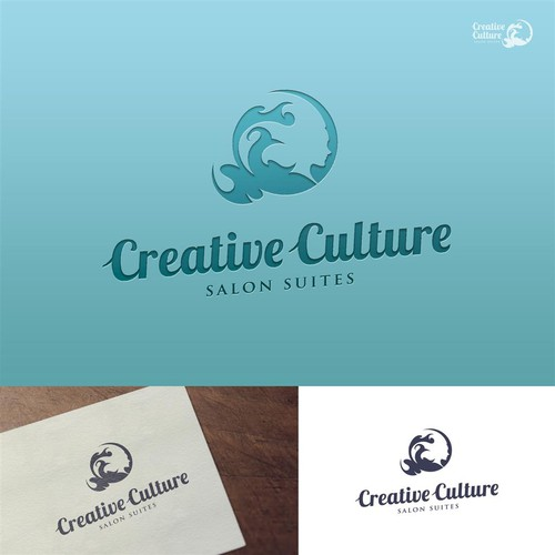 Creative Logo for Creative Culture Salon Suites
