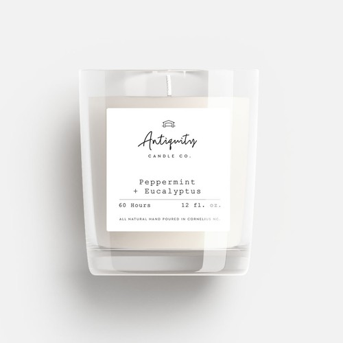Luxury and sophisticated Soy Candle