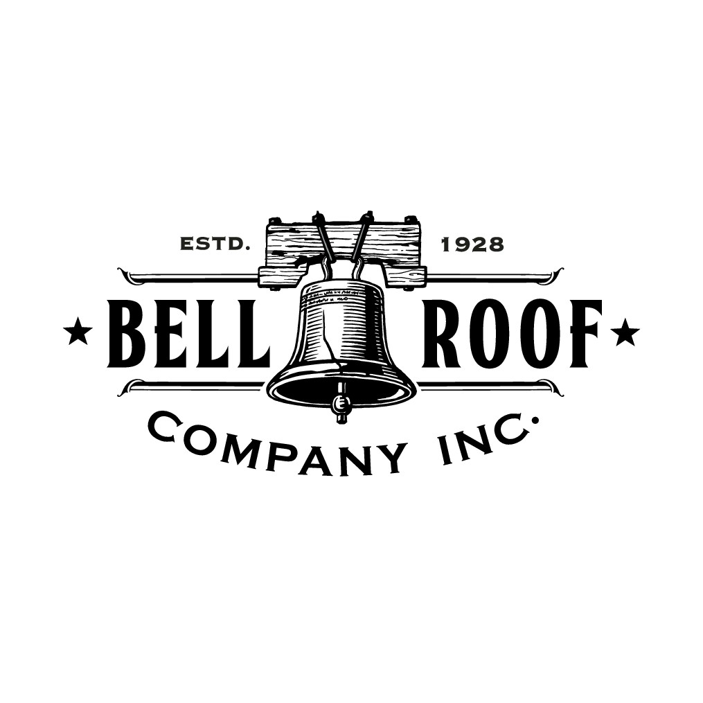 Logo Redesign Roofing Construction Company Since 1928