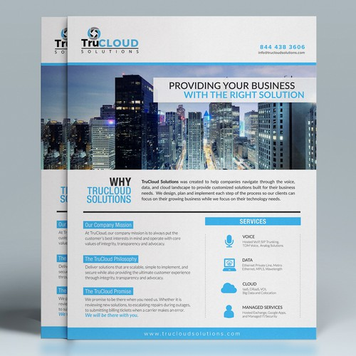 TruCloud Solutions Flyer