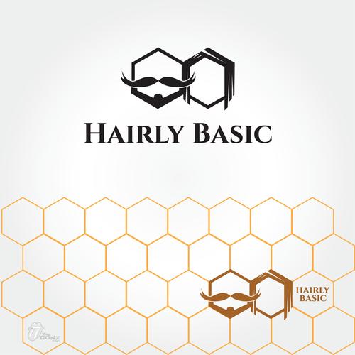 Hairly Basic needs an all-natural logo.