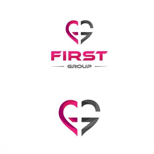 First Group logo design