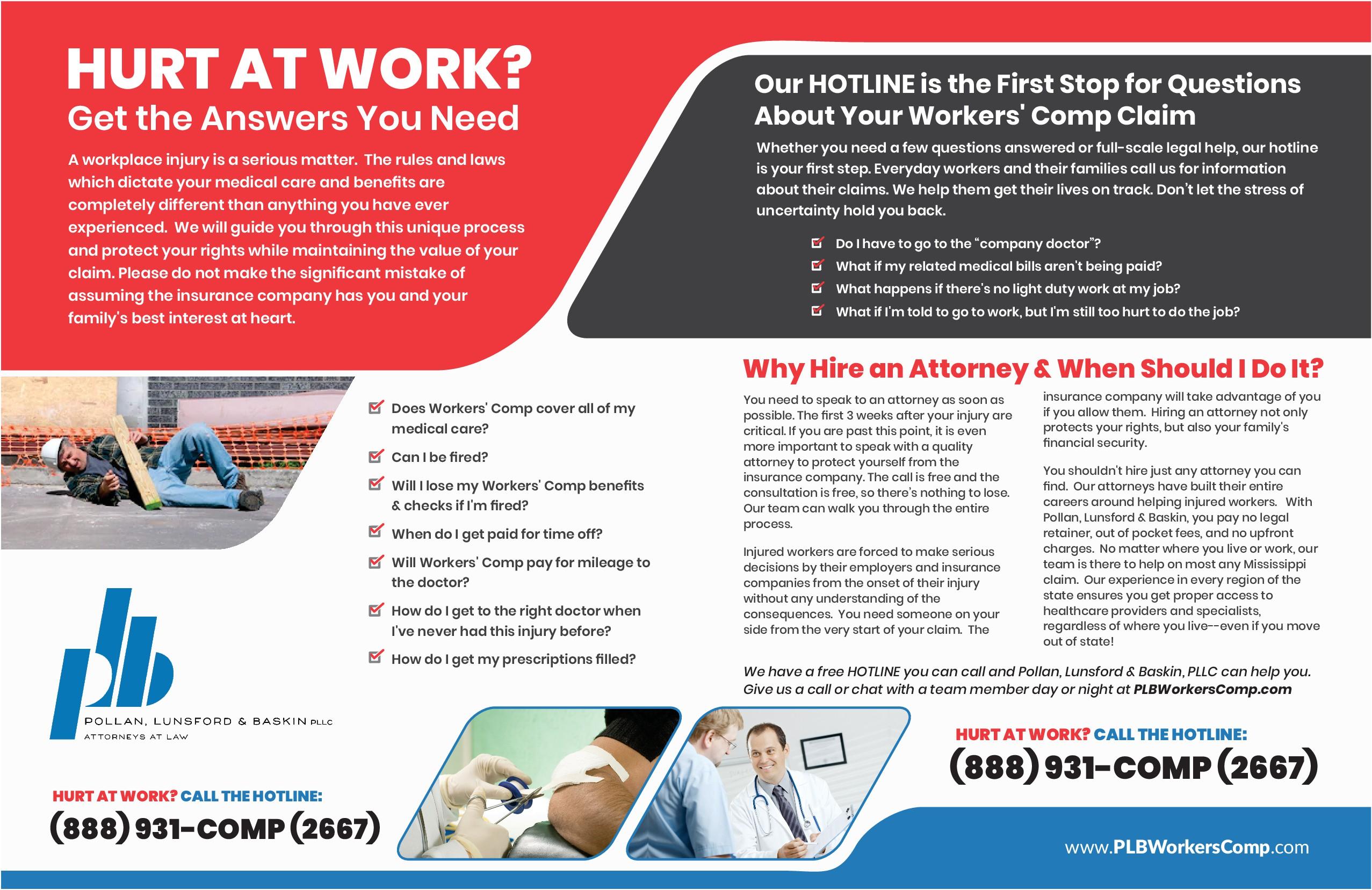 PLB Workers Comp Brochure