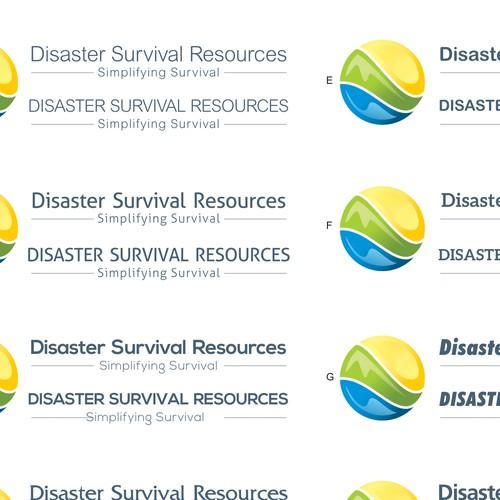 Disaster Survival Resources Logo Design