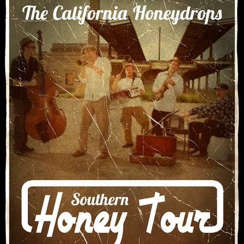 The California Honeydrops Band Poster